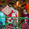 Santa listens to kids requests at the North End Trolley Tour