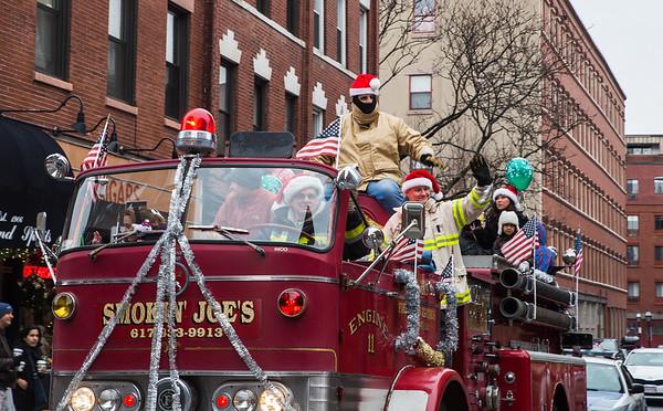 Smokin' Joe's Fire Truck in the Christmas Parade