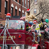 Smokin' Joe's Fire Truck in the Christmas Parade