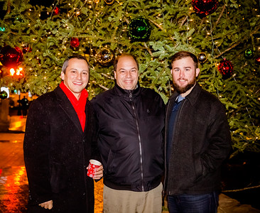 (L-R) Rep. Aaron Michlewitz, John Romano and Patrick