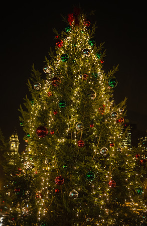 Cross St Christmas Tree
