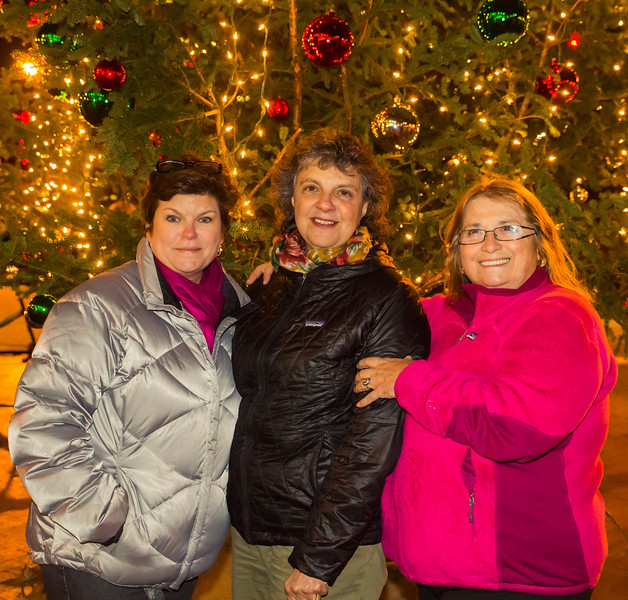 Alison, Patricia and Adrianna