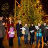 Carolers at Cross Street Event
