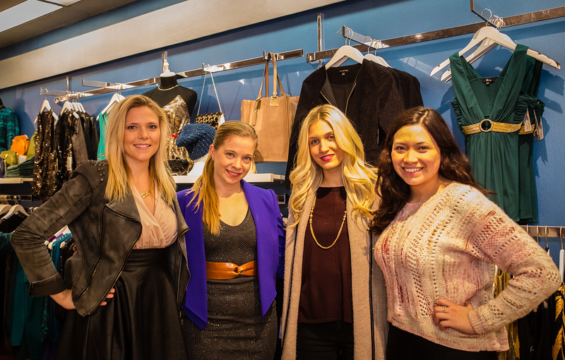 LIT Boutique, (L-R) Rebecca, Allyson, Nissa and Maite