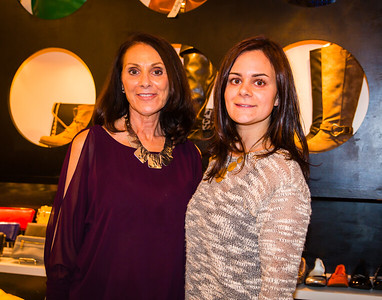 Elaine and Gina DiGangi at Heart and Sole on Hanover Street