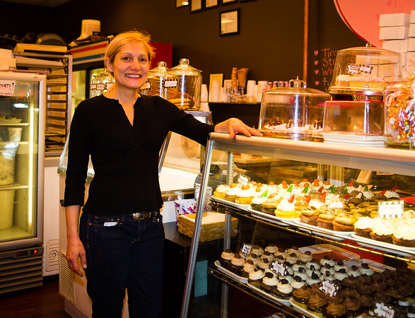 Sandy Russo of Lulu's Sweet Shoppe on Salem Street