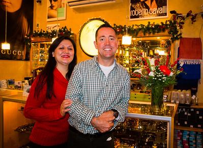 Joe Griffin and Litiana Martinez of Sol Optics