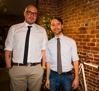Fabrizio Di Rienzo and Stefano Zanoncello of Officina 189 on North Street