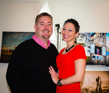 Christian Pleva and Melissa Klysner at Christian Pleva Images on Fleet Street