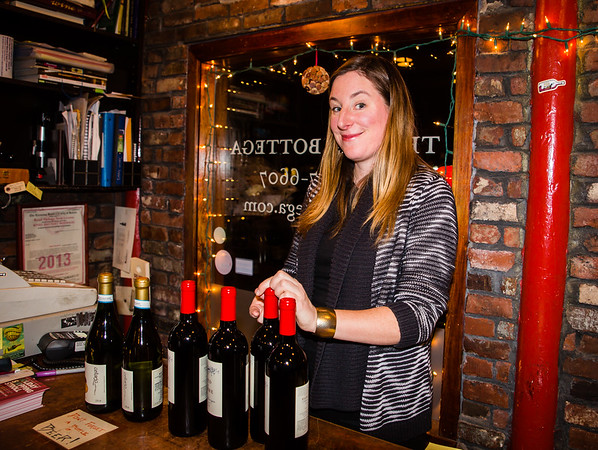 Kerry Platt of The Wine Bottega on Hanover Street