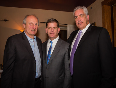 (L-R) Frank DePasquale, Mayor-Elect Marty Walsh and Charlie Gill