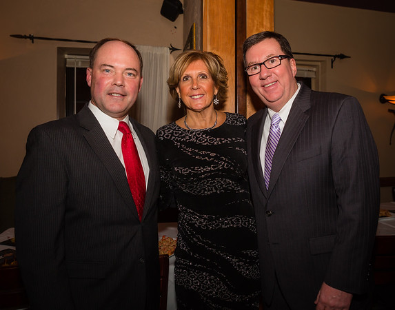 (L-R) John Rodgers, Donna Rignoli and Rep. David Nangle