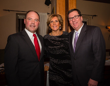 (L-R) John Rodgers, Donna Rignoli and Rep. David Nangle