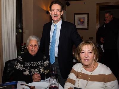 (L-R) Marie Simboli, Rev. Stephen Ayres and Lisa Santarpio