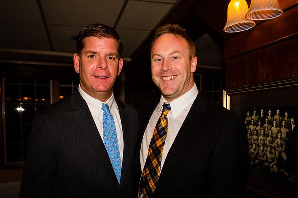 Mayor Elect Marty Walsh and Jack Kelly