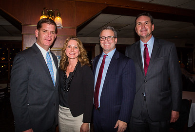 (L-R) Mayor Elect Marty Walsh, Michelle Kavey, Herb Boynton and Doug D'Allisandro