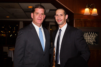 Mayor Elect Marty Walsh and Supporter