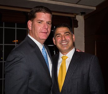 Mayor Elect Marty Walsh and Daniel Toscano