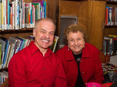 Secretary for the Friends group, Jim Salini and member Sonny Frissora