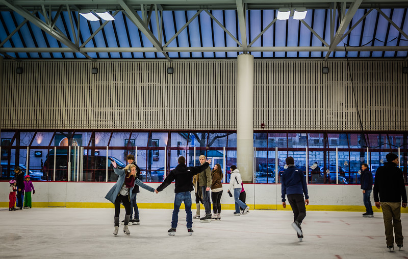 Fun moves on the ice