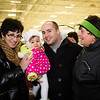 Family Fun at the Santa Skate and Toy Drive with Guilia and Gennaro Moretti
