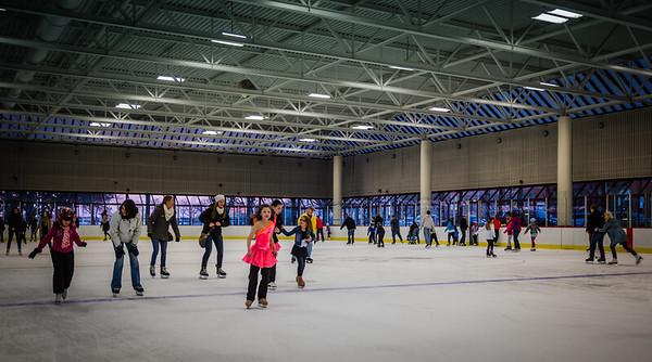 Everyone loves the ice at Santa Skate