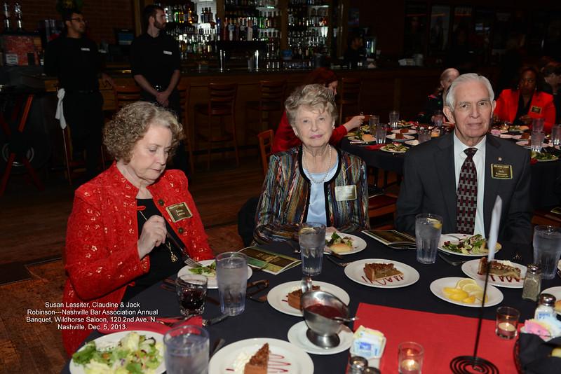 NBA Annual Banquet 2013