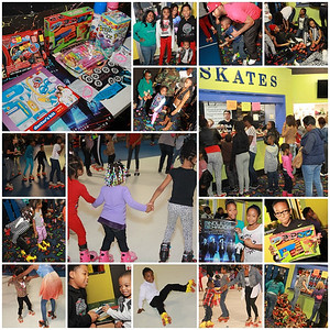 ROLL BOUNCE HOLIDAY SKATE PARTY 12.29.13