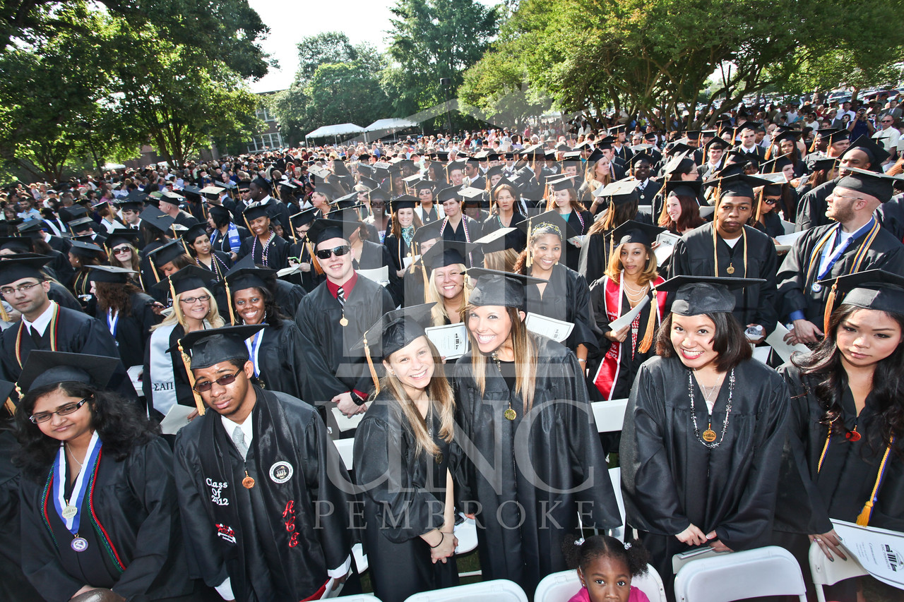 UNCP celebrates  the spring Undergraduate commencement on Saturday, May 5th, 2012..  IMG_1735.JPG