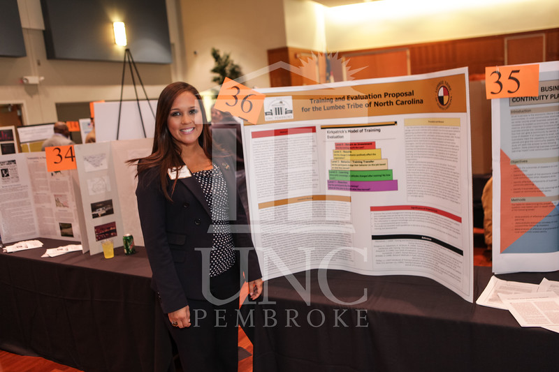 UNCP hold the Graduate Poster Night on Monday, March 25th, 2013. grad_poster_0002.jpg