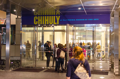 VMFA Entrance for Chihully