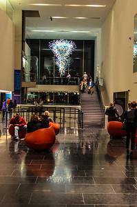 VMFA Atrium during Chuhuly