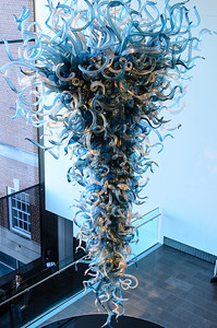Chihuly Glass Chandelier at the VMFA