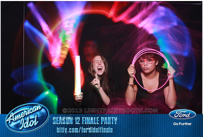 LightPaintBooth com American Idol 2013 - 2