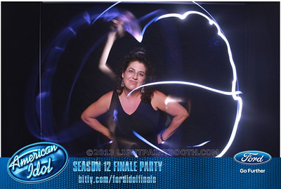 LightPaintBooth com American Idol 2013 - 24