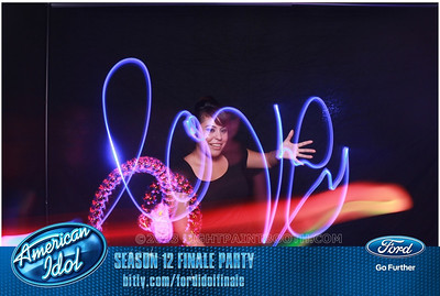 LightPaintBooth com American Idol 2013 - 8