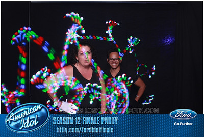 LightPaintBooth com American Idol 2013 - 18