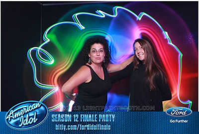 LightPaintBooth com American Idol 2013 - 5