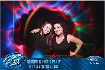 LightPaintBooth com American Idol 2013 - 26