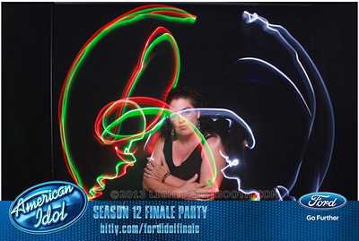 LightPaintBooth com American Idol 2013 - 22