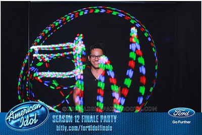 LightPaintBooth com American Idol 2013 - 19