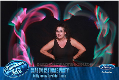 LightPaintBooth com American Idol 2013 - 25