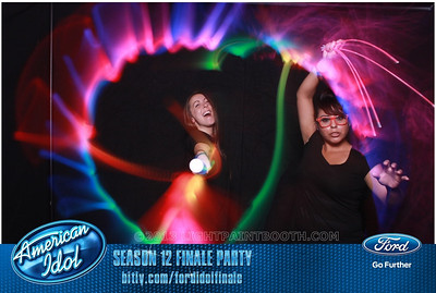 LightPaintBooth com American Idol 2013 - 1