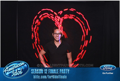 LightPaintBooth com American Idol 2013 - 21
