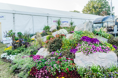 State Fair - Goat Mountain turned into a Gardening Display