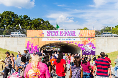 State Fair of Virginia Entrance during the day