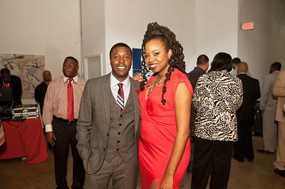 5th Annual Red Pump Red Tie Affair  Hart Witzen Gallery 12-7-13 034