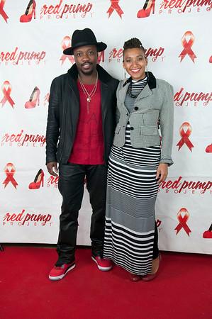 5th Annual Red Pump Red Tie Affair  Hart Witzen Gallery 12-7-13 042