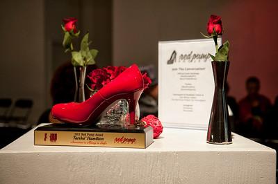 5th Annual Red Pump Red Tie Affair  Hart Witzen Gallery 12-7-13 038