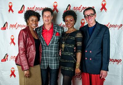 5th Annual Red Pump Red Tie Affair  Hart Witzen Gallery 12-7-13 047